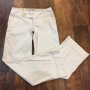 Free People Creamy White Wide Leg Pants Size 6